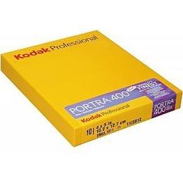 """Kodak  1 Portra 400 4x5"""" 10 Sheets"""