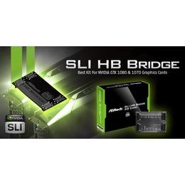 ASRock Asrock Sli Hb Bridge 2 Slot SLI_HB_BRIDGE 2S CARD