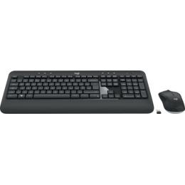 Logitech klaviatuur MK540 Combo, Pan Nordic, Wireless, White (920-008683)