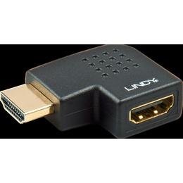 Lindy Adapter HDMI (M) - (F), nurgaga vasakule (41358)