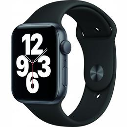 Apple Watch SE GPS 44mm Space Gray Aluminum Case with Black Sport Band