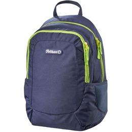 Herlitz Backpack Pelikan Blue/Lemon/00502221