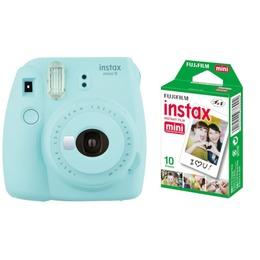Fujifilm  Instax Mini 9 + Instax mini glossy (2x10) Ice Blue