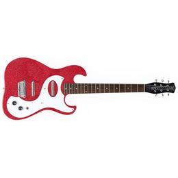Danelectro  63 Guitar Red Metal Flake