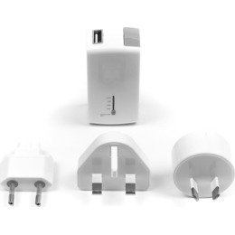 Targus  2-in-1 USB Wall Charger & - White
