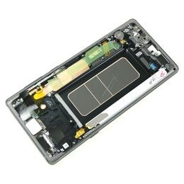 Samsung Galaxy Note 9 (SM-N960F) Originaal displei moodul klaas + LCD ekraan, Must