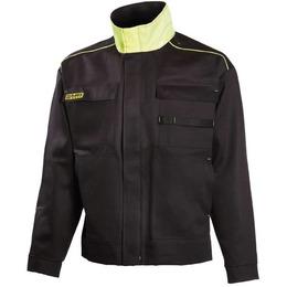 Dimex Keevitaja jakk 644 must/kollane 2XL,