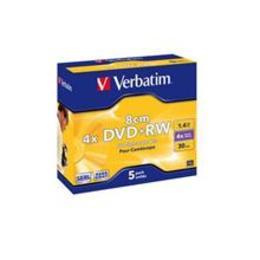 Verbatim mini DVD+RW   1.4GB 4X jewel box
