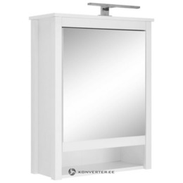 1 Peegeluksega Ja LED Valgustusega Seinakapp (Ole) (Terve, Saalinäidis) (kasutatud)