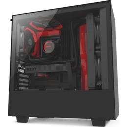 NZXT H500 Red