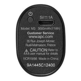 APC  Mobile Power Pack 3000mAh Black