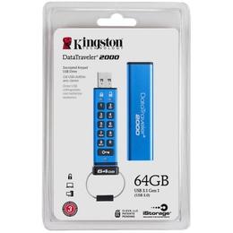 Kingston USB 3.0 Flash Drive DataTraveler 2000 64GB