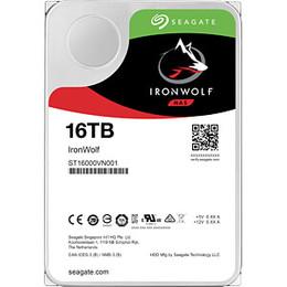 "Seagate IronWolf HDD 3.5"" 16TB SATA3 7200RPM 256MB"