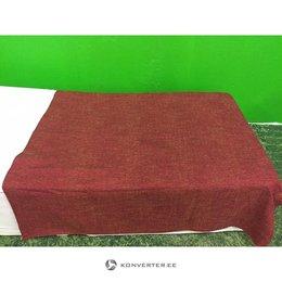 Punane kolmveerand kattev voodikate (kasutatud)