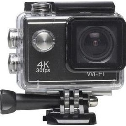 Denver  ACK-8058W - Action Camera - mountable - 4K / 30 BpS - 4.0 MPix - Wi-Fi - Underwater up to 30 m (ACK 8058 W)