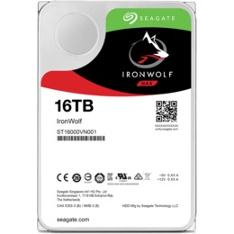 "Seagate IronWolfPro HDD 3.5"" 16TB SATA3 7200RPM 256MB"
