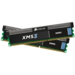 Corsair DDR3 1600MHz 16GB 2x8GB 240 DIMM Unbuffered 11-11-11-30 1.5V XMS3 with Classic Heat Spreader - Core i7 Core i5 and Core