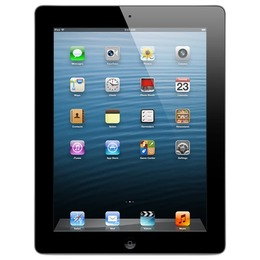 Apple  Kasutatud iPad 4 (Retina Display) 16 GB Wi-Fi Black (Grade B)