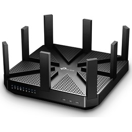 TP-LINK  wireless triple band router, 802.11a/b/g/n/ac, 5200Mbps, black