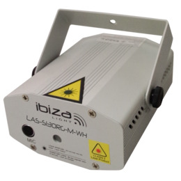 Ibiza Light LAS-S130RG-M-WH