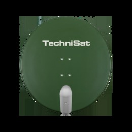 TechniSat  SATMAN 850 Plus SAT mirror with UNYSAT Quattro LNB green