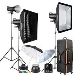 Godox SK II studio Flash Kit: 3x Studio Flash