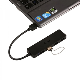 iTec USB 3.0 U3HUB404 Black