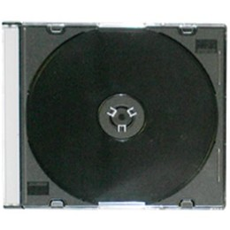 Dezutes CD/DVD karp CD Slim Box black 5,2 mm (MOQ 288pcs)