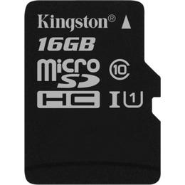 Kingston microSDHC 16GB Canvas Select CL10 UHS-I