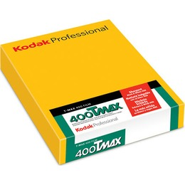 "Kodak  1 TMY 400 4x5"" 50 Sheets"