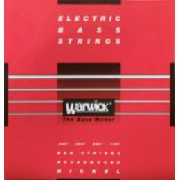Warwick Warwick Red Strings Nickel 5 M-C