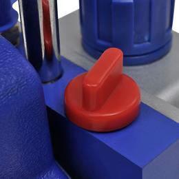 vidaXL üheastmeline vaakumpump 2-suunalise kollektori manomeetriga