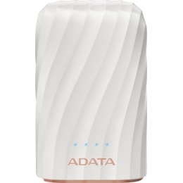 ADATA P10050C Power Bank, 10050mAh, white (AP10050C-USBC-CWH)