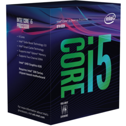 Intel Core i5-8400 (9M Cache, up to 4.00 GHz) Box