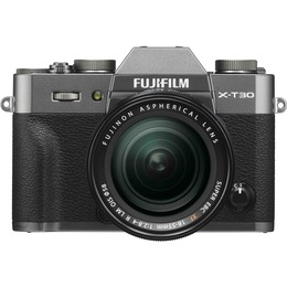 Fujifilm X-T30 + 18-55mm Kit Charcoal