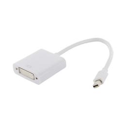 4World mini DP M - DVI-I F White