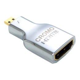 Lindy Üleminek Micro HDMI (M) - HDMI (F), CROMO
