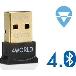 4World Bluetooth MICRO adapter USB 2.0, Class 1, version 4.0 (10242)