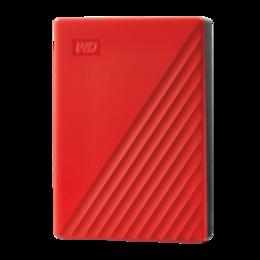 Western Digital WD My Passport WDBPKJ0040BRD 4TB Red