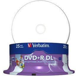 Verbatim 8.5GB 8X 25pack cake box printable