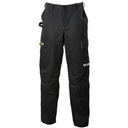 Dimex Keevitaja püksid 645 must/kollane 56,