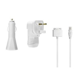 Belkin MP3 Accessories laadija Power Pack for iPod White