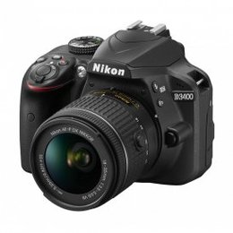 Nikon  D3400 + 18-55mm VR