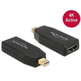 Delock Adapter mini Displayport (M) - HDMI (F) 4K@60Hz Active