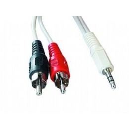 Gembird audio-video kaabel CCA-458 3.5MM-2PHONO 1.5M