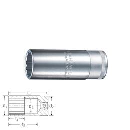 "Stahlwille Mutrivõti 03020015; 1/2""; 15 mm"