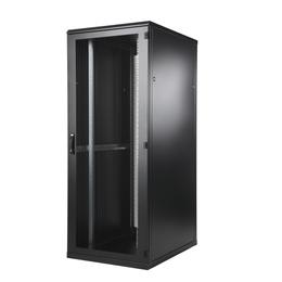 BKT Seadmekapp 45U 2120x800x1000 k,l,s, perforeeritud uksed, kandevõime kuni 1000kg, must, TOP II