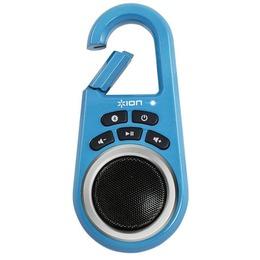 Ion Kaasaskantav sinist värvi kõlar Audio Clipster