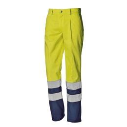 SirSafetySystem Kõrgnähtavad multi püksid Supertech kollane/sinine 50, Sir Safety System