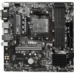MSI Socket AM4 B450M Pro-VDH Max